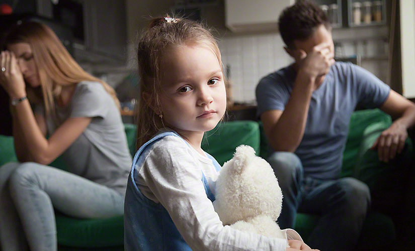Effects of divorce on the children are explained