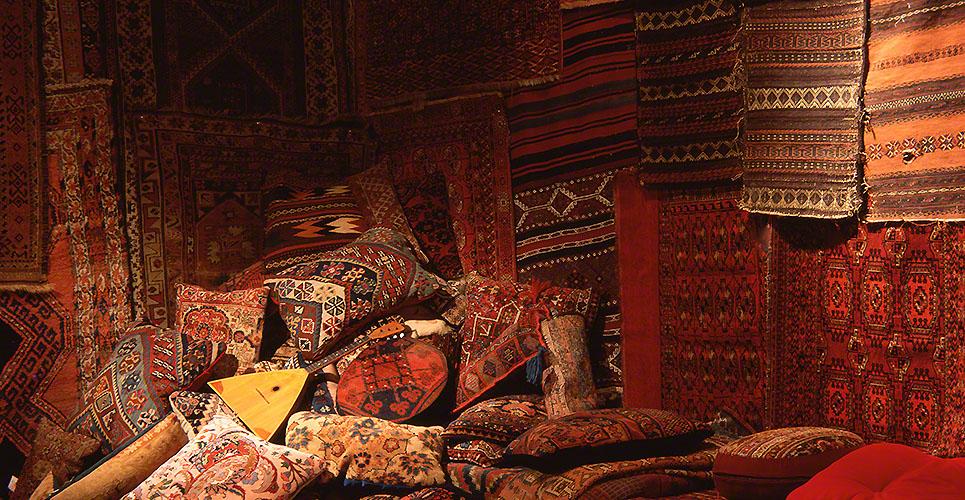 Oriental rug bizzare