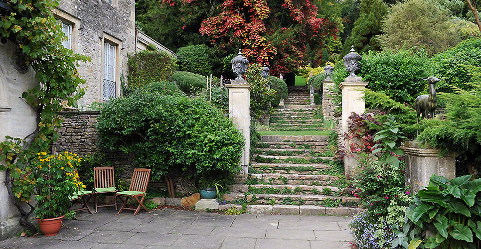 Formal Garden Courtyard