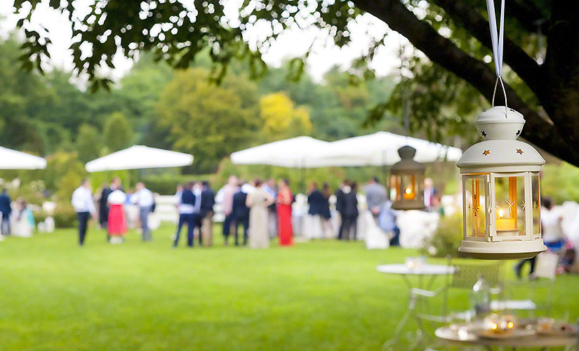 What is the importance of chairs in a wedding function?